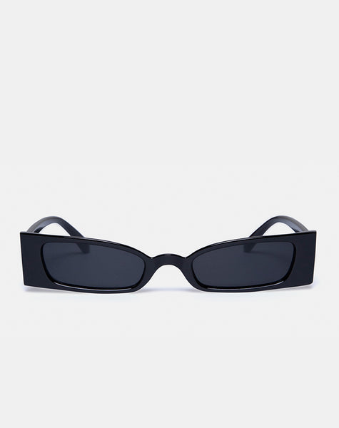 Joslin Sunglasses in Black by Motel