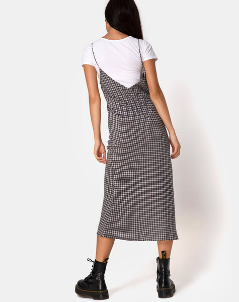 Juvina Dress in Check It Out Black
