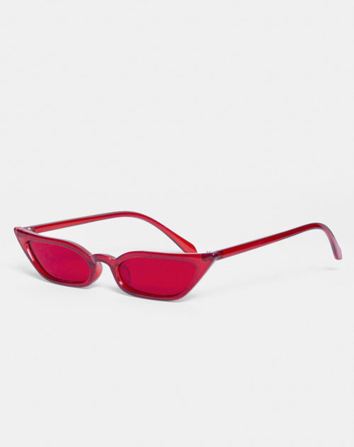 Kendal Sunglasses in Red by Motel