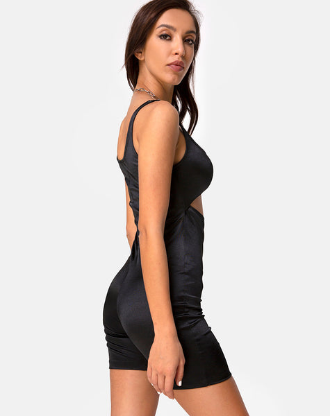 Kez Unitard in Black by Motel