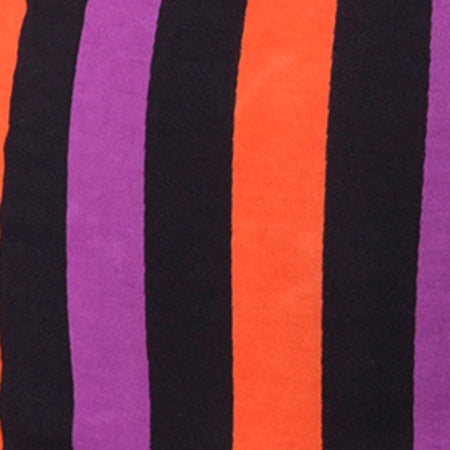Kimmy Bodycon Skirt in Purple and Orange Stripe