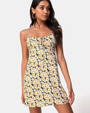 Kumala Slip Dress in Delightful Daisy by Motel