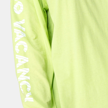 Lotsun Sweatshirt in Motel No Vacancy Fluro Green