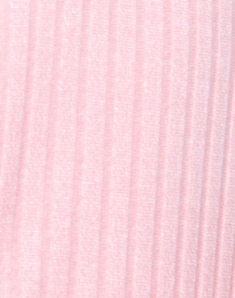 Lucia Bodice in Ribbed Blush by Motel