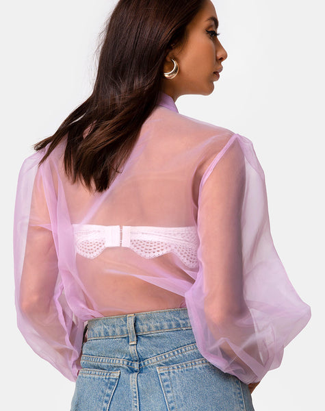 Makiza Top in Lilac by Motel