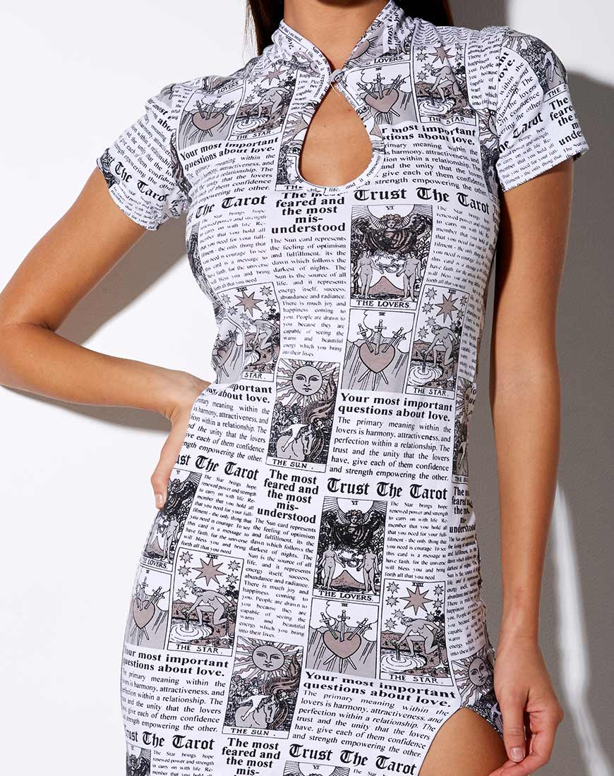 Marlin Bodycon Dress in Tarot by Motel 13