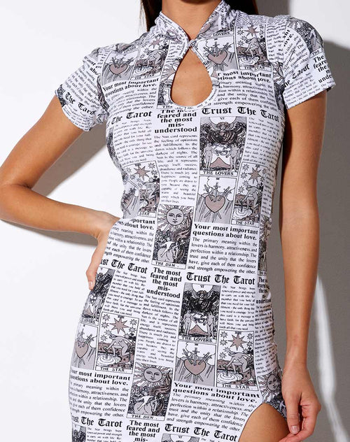Marlin Bodycon Dress in Tarot
