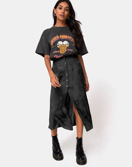 Saika Skirt in Oversize Jaguar Ori by Motel