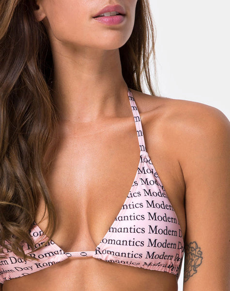 Meeka Bikini Top in Modern Day Romantic