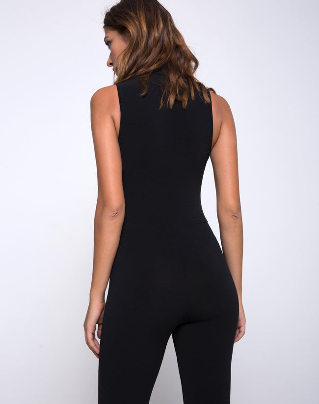 Meron Unitard in Black by Motel