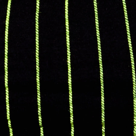 Micro Crop Top in Neon Pinstripe