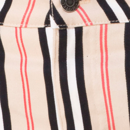 Mini Broomy Skirt in Classic Stripe Vertical