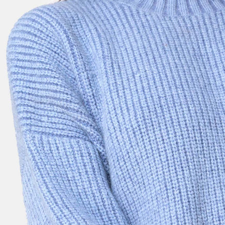 Mody Jumper in Blue Rib