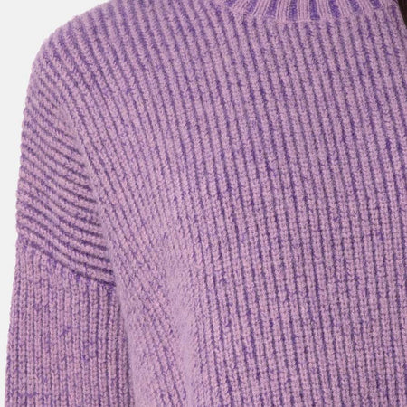 Mody Jumper Knitted in Light Purple