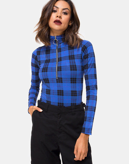 Ryon Bodice in Heritage Check