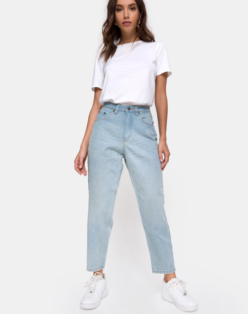 Mom Jeans in Blue Wash by Motel 23