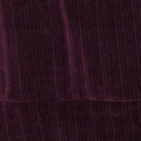 Neve Oversize Jumper Dress in Chenille Plum