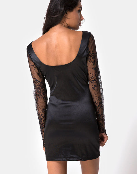 Dulipa Mini Dress in Black