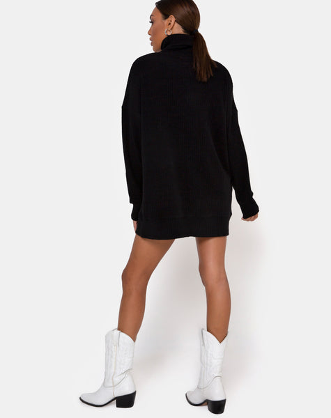 Neva Jumper in Black by Motel