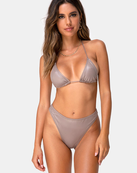 Pami Bikini Top in Coco by Motel