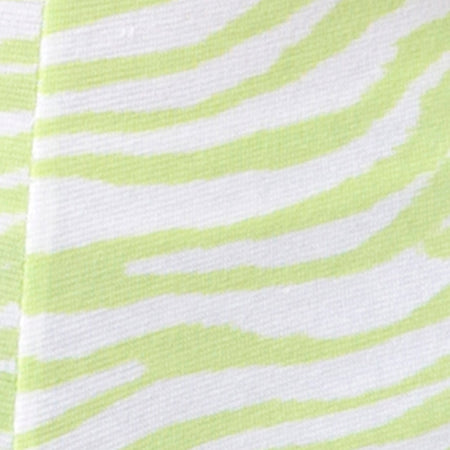 Phia Unitard in Classic Zebra Lime by Motel