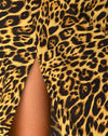 Quinty Dress in Leopard