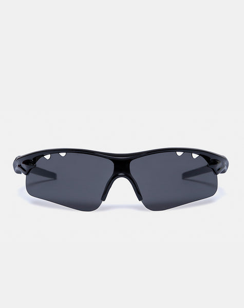 Rave Sunglasses in Black by Motel