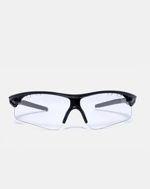 Rave Sunglasses in Clear by Motel