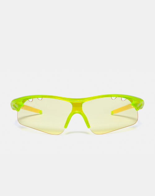 Rave Sunglasses in Yellow by Motel