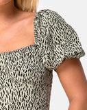 Rocha Top in Mini Jaguar by Motel
