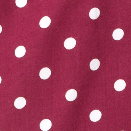 Roppan Slip Dress in Medium Polka Wine