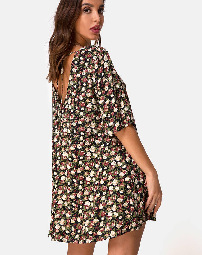 Rosella Dress in Courtney Floral by Motel