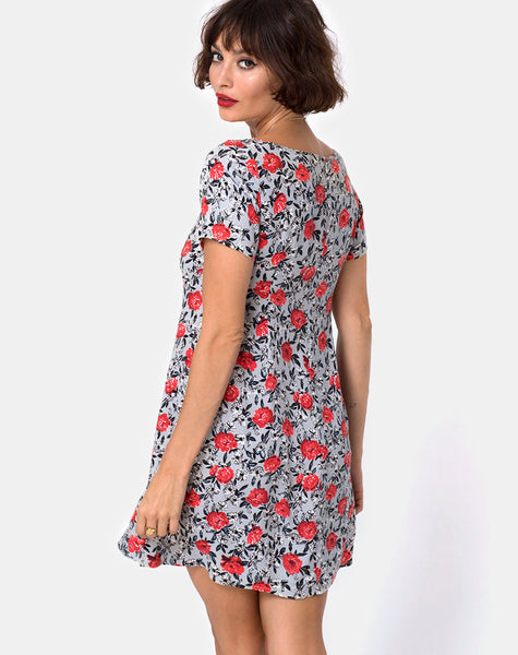 Ruchi Dress in Blooming Rose by Motel