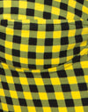 Ryon Bodice in Medium Gingham Yellow