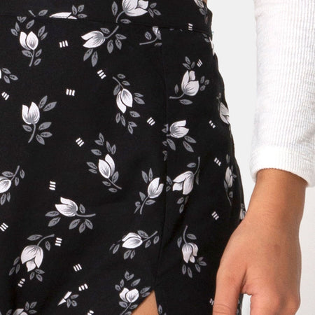 Saika Midi Skirt in Dark Tulip by Motel