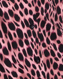 Sanna Slip Dress in Pink Cheetah