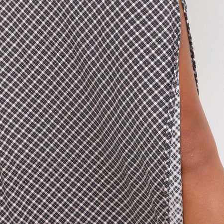 Sayan Skirt in Check It Out Black