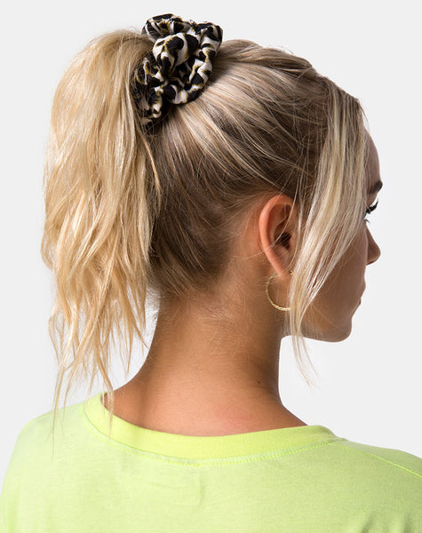 Scrunchie in Cheetah by Motel