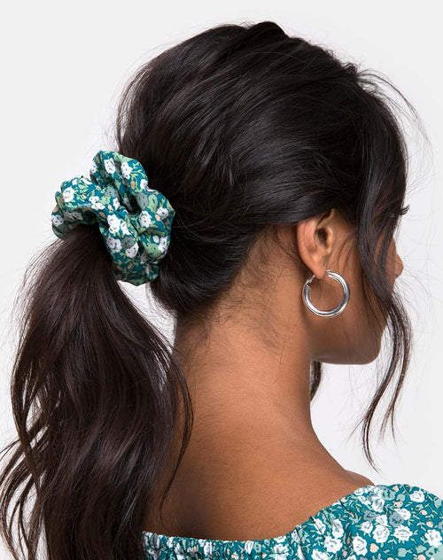 Scrunchie in Floral Field Green by Motel