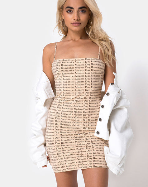Selah Bodycon Dress in Modern Day Romantics by Motel