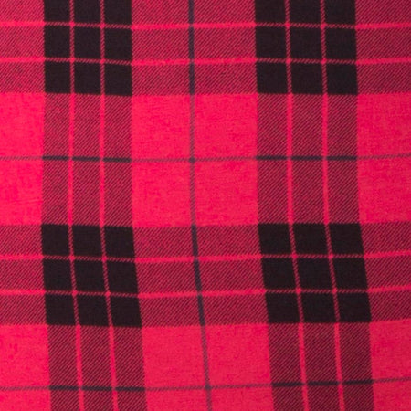 Selah Dress in Winter Plaid Red / Black