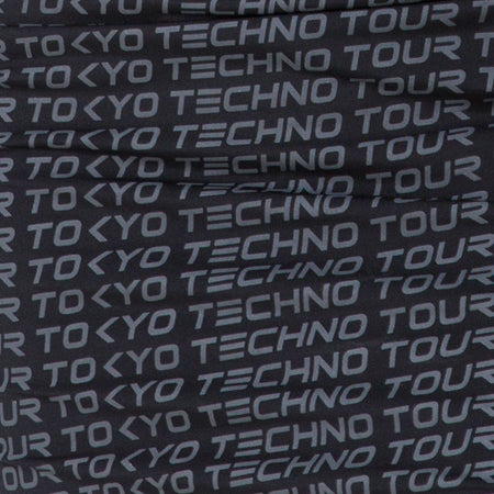 Selah Bodycon Dress in Tokyo Techno Tour Black by Motel