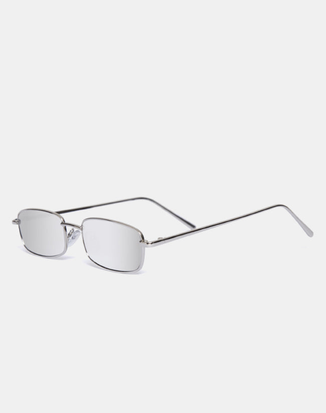 Kaia Sunglasses in Silver by Motel