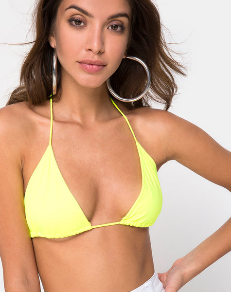 4ed073541c951 Gwen Bralet in Neon Yellow by Motel – motelrocks.com