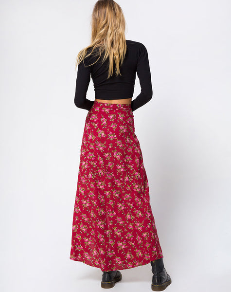 Shayk Skirt in Soheila Floral by Motel
