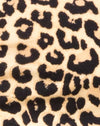 Shim Cutout Crop Top in Rar Leopard