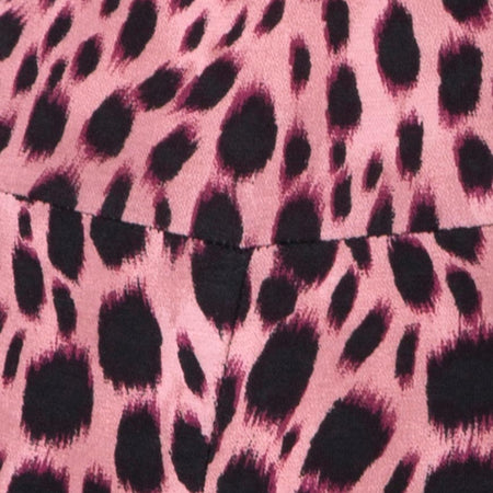 Soda Catsuit in Pink Cheetah by Motel