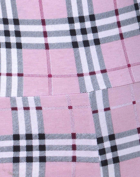 Solita Unitard in Pink Check by Motel