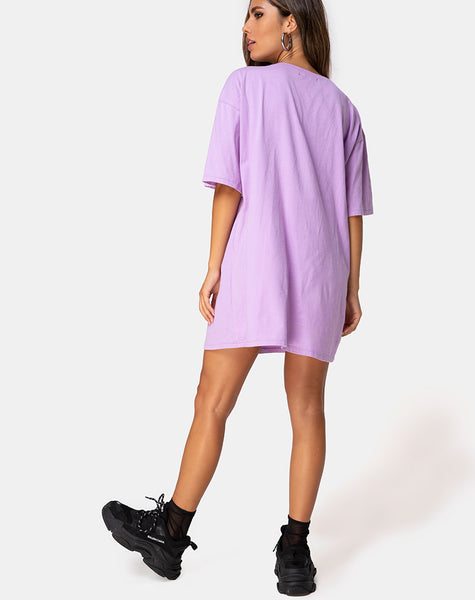 Sunny Kiss Tee in Lilac Cherub by Motel