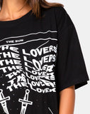 Sunny Kiss Tee in The Sun, Lover and Soul by Motel